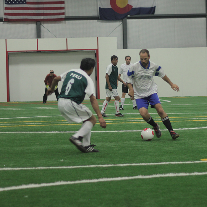 adult Indoor soccer tournament